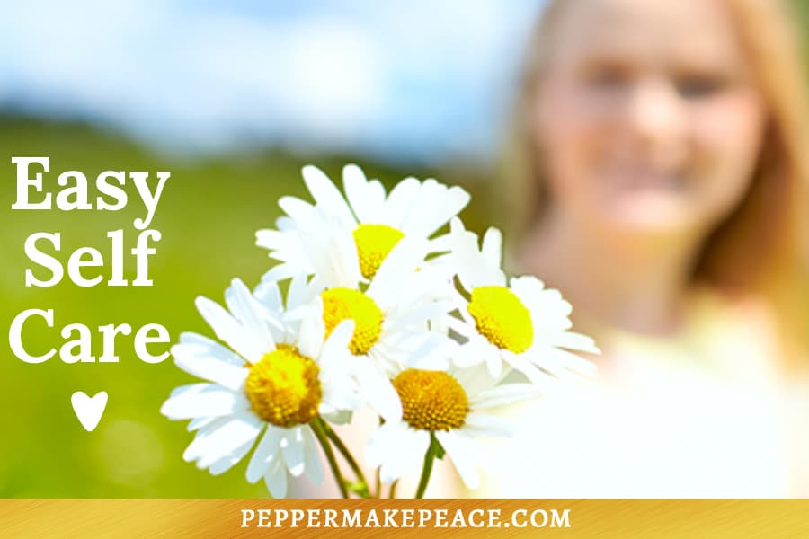 Self Care Tip Pepper Makepeace