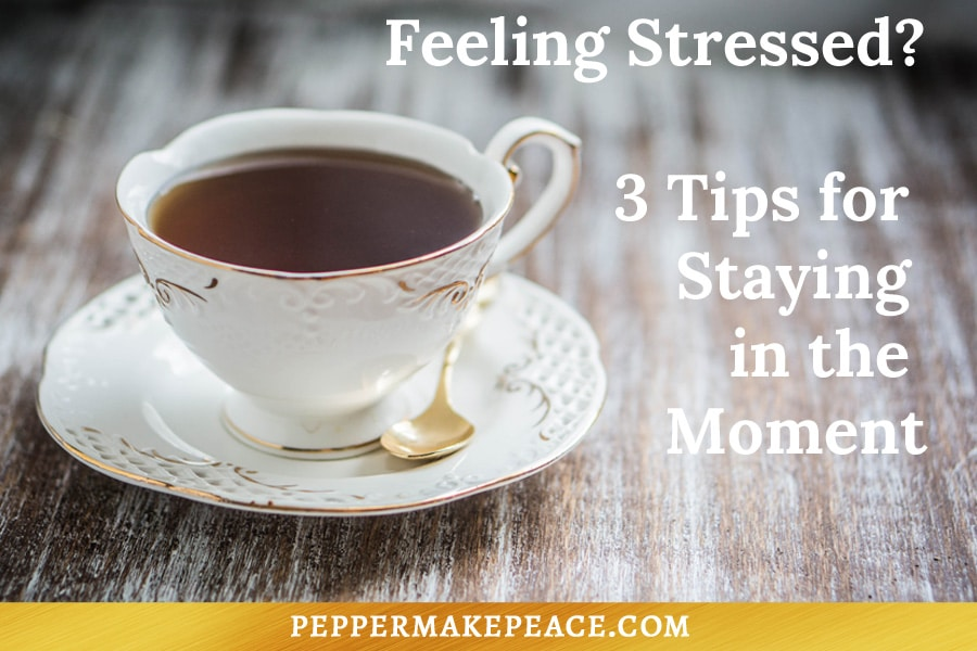 Stress Tips Pepper Makepeace