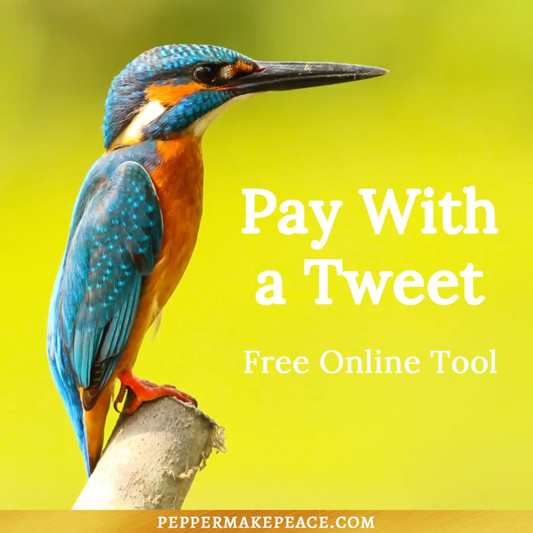 Pay With a Tweet – Free Online Tools