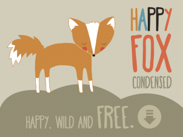 Free Download – Happy Fox Font