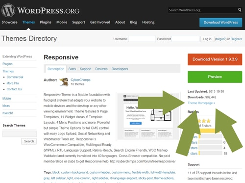 responsive2 wordpress theme