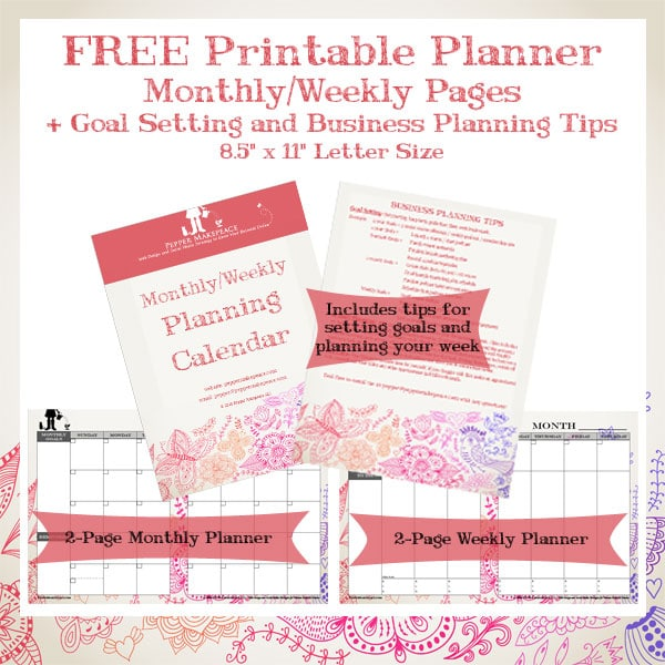 Planning And Goal Setting Free Download Pepper Makepeace