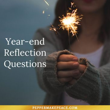 Year-end Reflection – Journal Prompt Questions