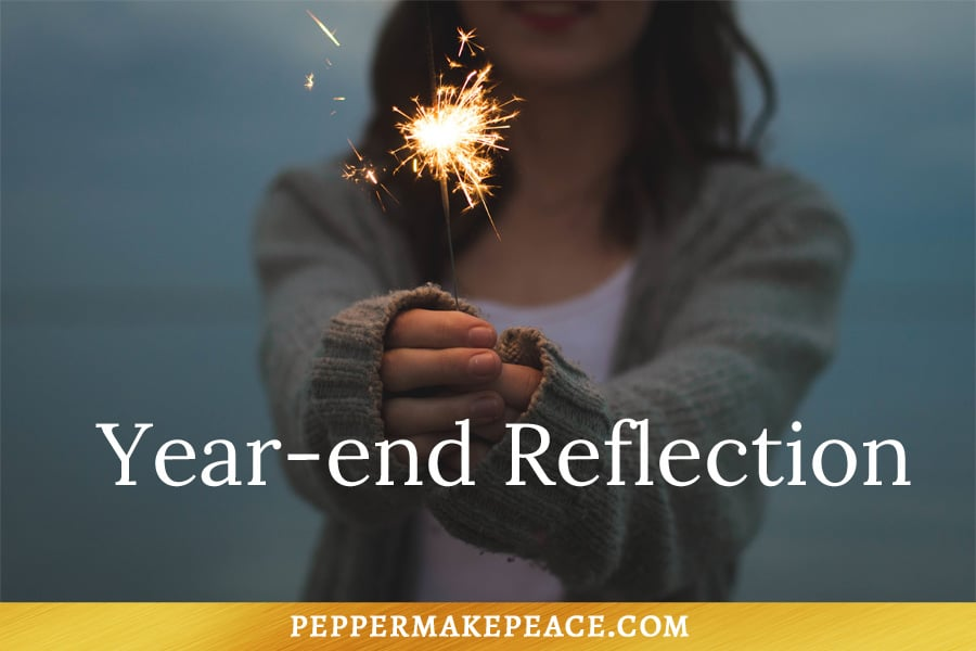 Year-End Reflection Questions Pepper Makepeace